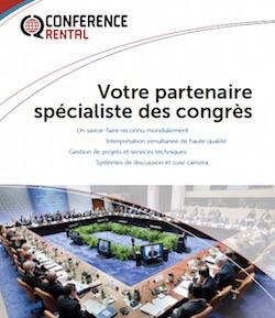 Brochure Conference Rental