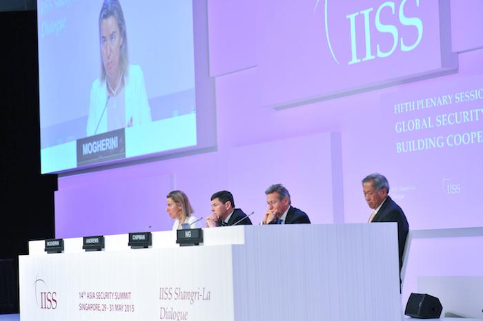 Sommet de l'IISS sur la sécurité en Asie